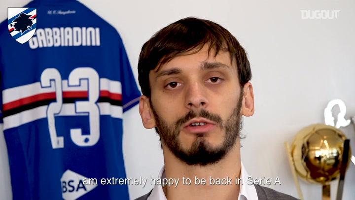 Exclusive: Manolo Gabbiadini Delighted At Sampdoria Return