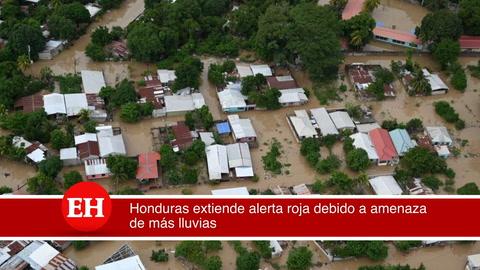 Honduras extiende alerta roja debido a amenaza de más lluvias