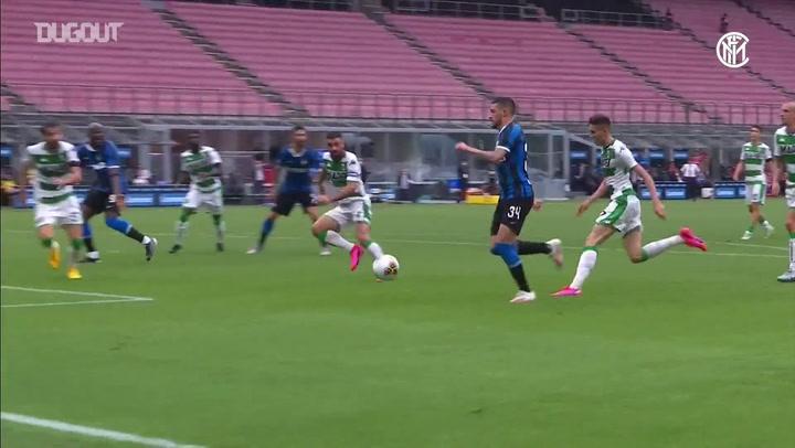 تألق أليكسيس سانشيز منذ استئناف الدوري الإيطالي