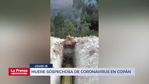 Muere sospechosa de coronavirus en Copán