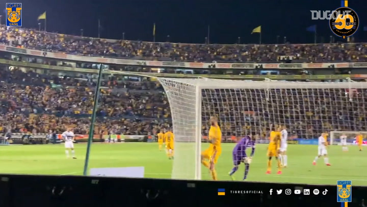 Gignac's bicycle kick goals for Tigres