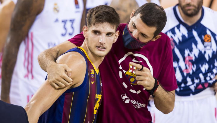 Así juega Sergi Martínez, jugador de basket del Barça