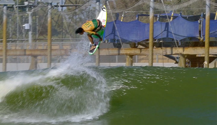 Gabriel Medina has the Surf Ranch locked down like no one else.