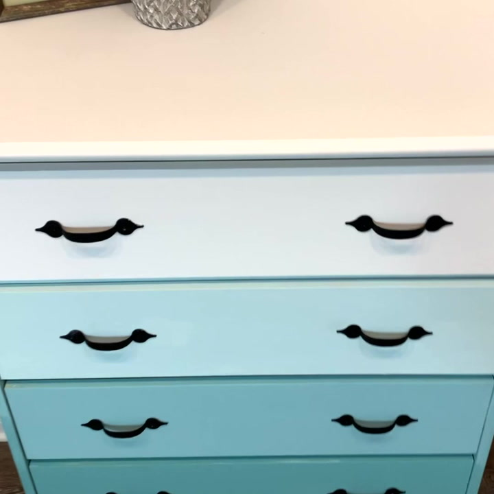 Transform Your Furniture With This Ombre Painting Technique