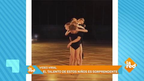 Este grupo de niños baila ballet mejor que nadie