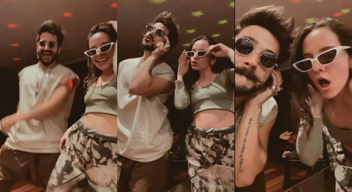 """Camilo y Evaluna sorprenden con challengue de nueva canción """"Ropa cara"""""""