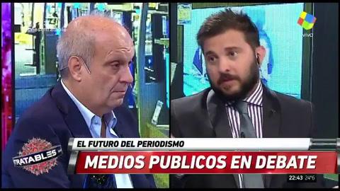 Hernán Lombardi negó que haya despidos en la TV Pública