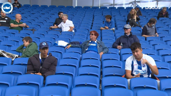 Fans return to the AMEX as Brighton draw 1-1 with Chelsea