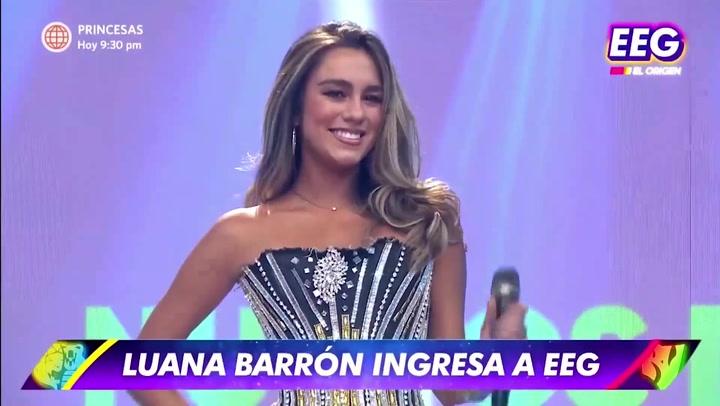 Esto es Guerra: Luana Barrón está de regreso en el reality | VIDEO