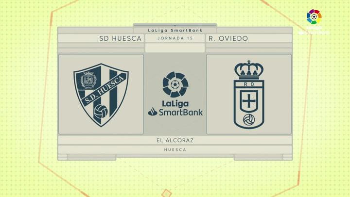 LaLiga SmartBank (J15): Resumen y goles del Huesca 3-1 Oviedo