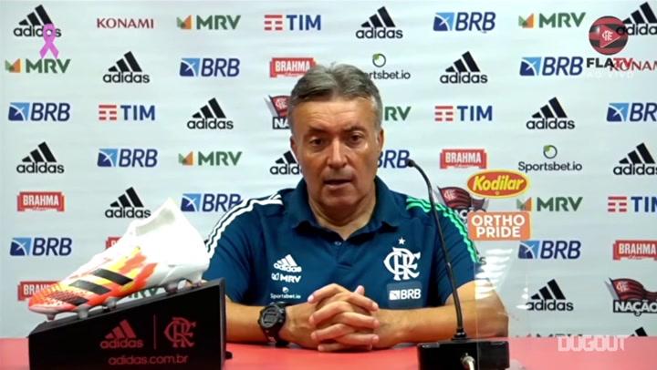 """Domènec Torrent após empate no Beira-Rio: """"Perdemos dois pontos"""""""