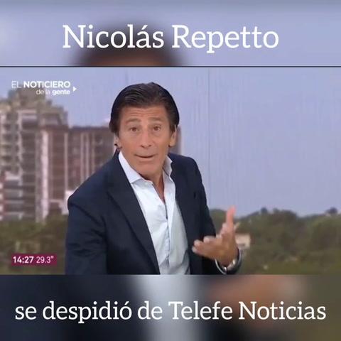 Nicolás Repetto se fue del noticiero de Telefé y se defendió de las críticas