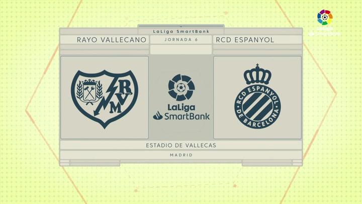 LaLiga Smartbank (Jornada 6): Rayo 1-0 Espanyol