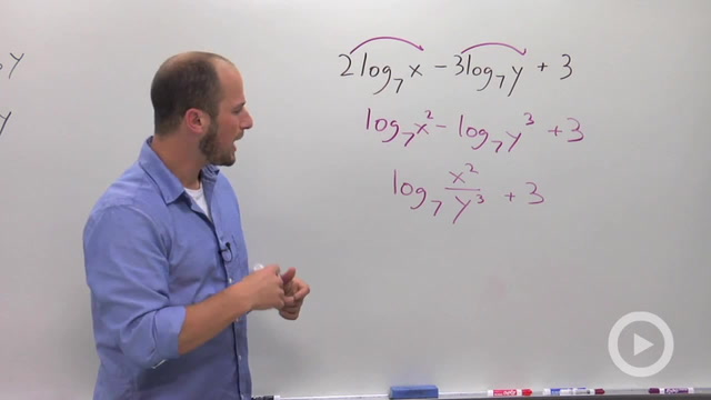 Condensing Logarithms - Problem 3