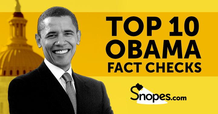 Top Ten Barack Obama Fact Checks