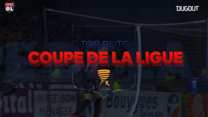 Olympique Lyonnais's top goals in the Coupe de la Ligue