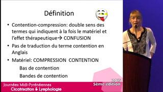 Contention ou compression : quelle différence, quel matériel à disposition ?
