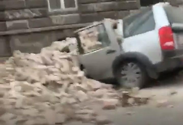 Imágenes del terremoto en Zagreb