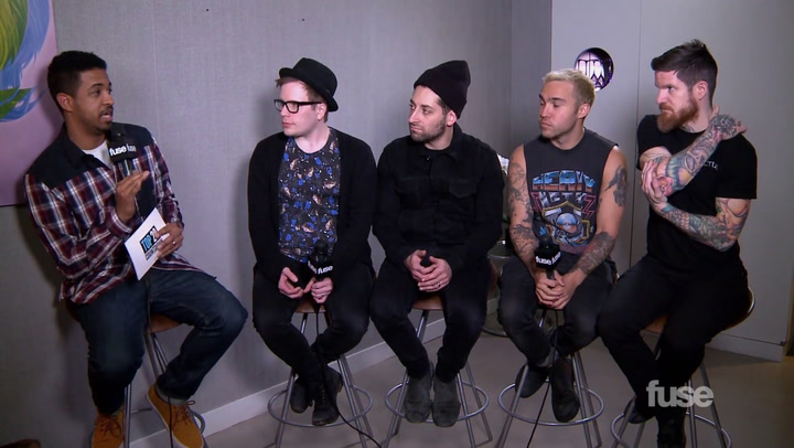 Fall Out Boy Talk New Single, Uma Thurman, Munsters Sample