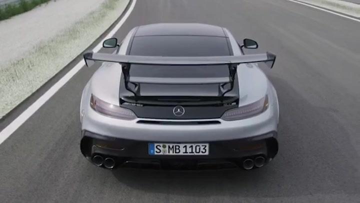 AMG GT Black Series, el más potente y espectacular de los Mercedes