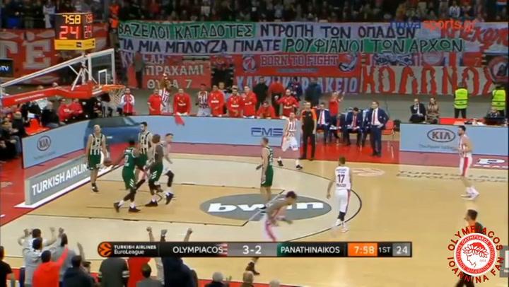 Lo mejor de Nikola Milutinov con el Olympiacos