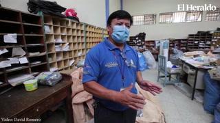 Correo Nacional retoma sus laborares con poco personal en la capital