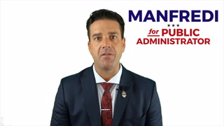 Aaron Manfredi, Republican candidate for Clark County Public Administrator