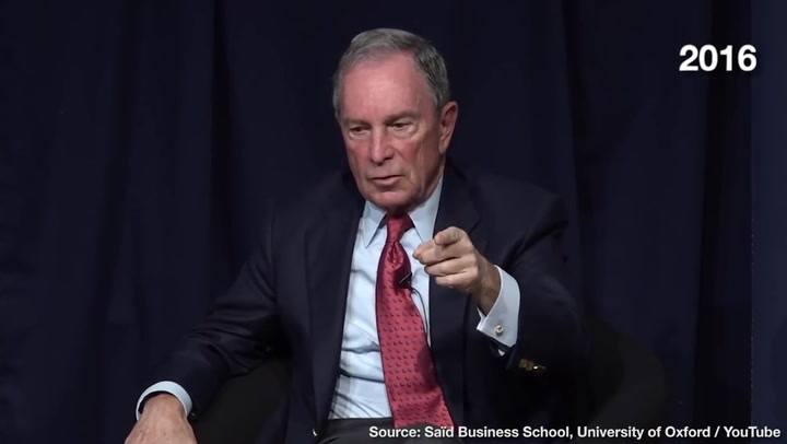 Mike Bloomberg: Open Borders Is Solution to 'Dangerous World'