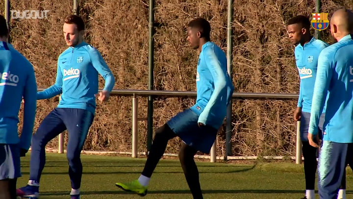 Samuel Umtiti Returns To Barça training