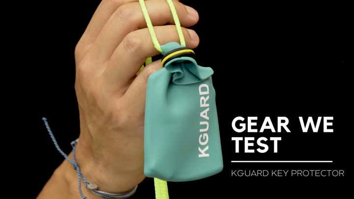 Going surfing and don't know what to do with your key? KGuard offers a sensible solution for you to make sure your car doesn't get stolen while you (try to) get barreled.