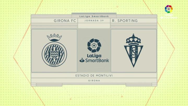 LaLiga SmartBank (J39): Resumen y goles del Girona 1-0 Sporting