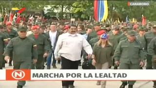 Maduro renueva altos mandos de las FFAA de Venezuela y ratifica al ministro de Defensa