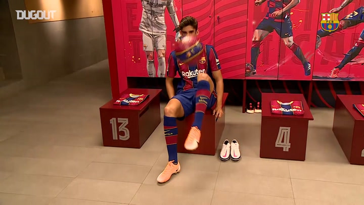 Francisco Trincão's presentation at FC Barcelona