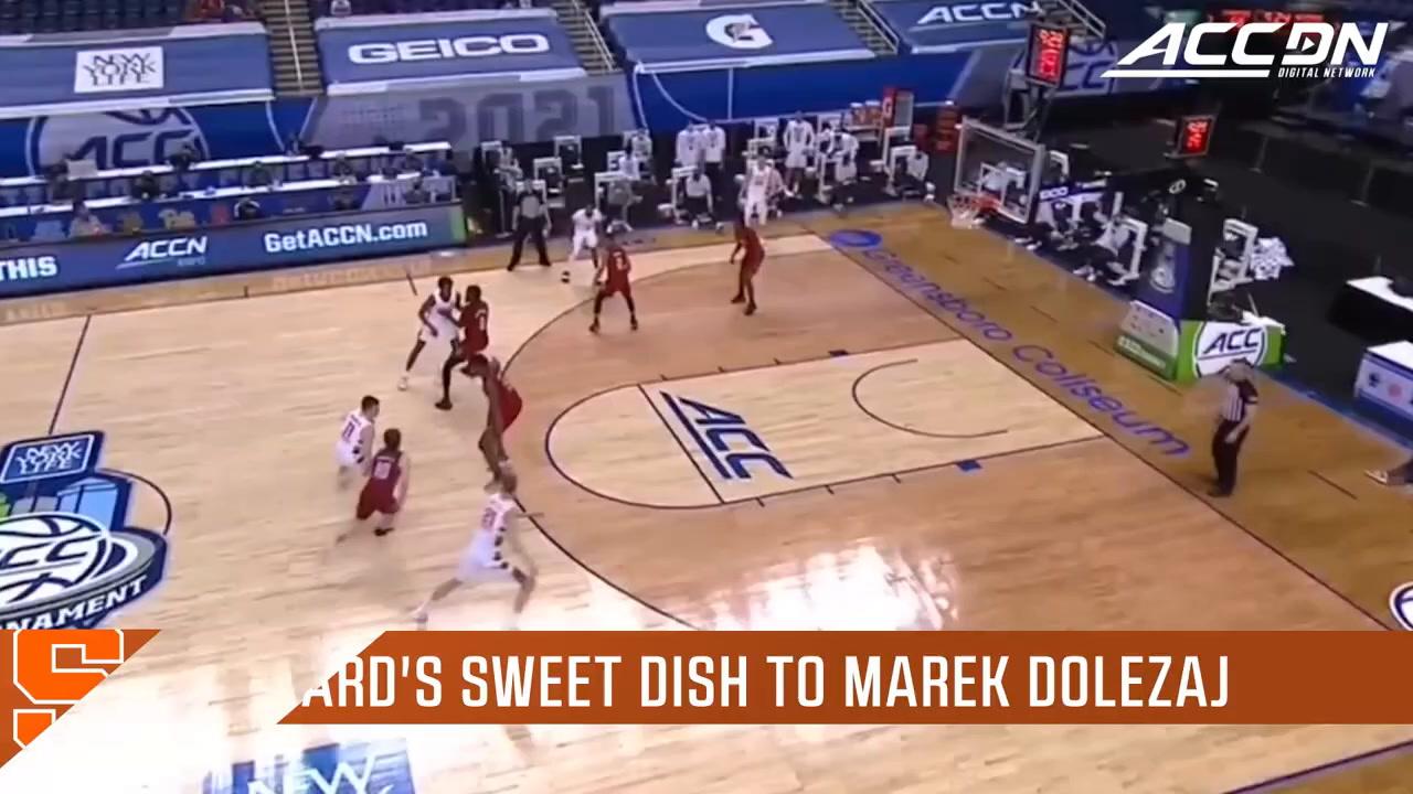 Syracuse Basketball Top 5 Plays of The 2020-21 Season