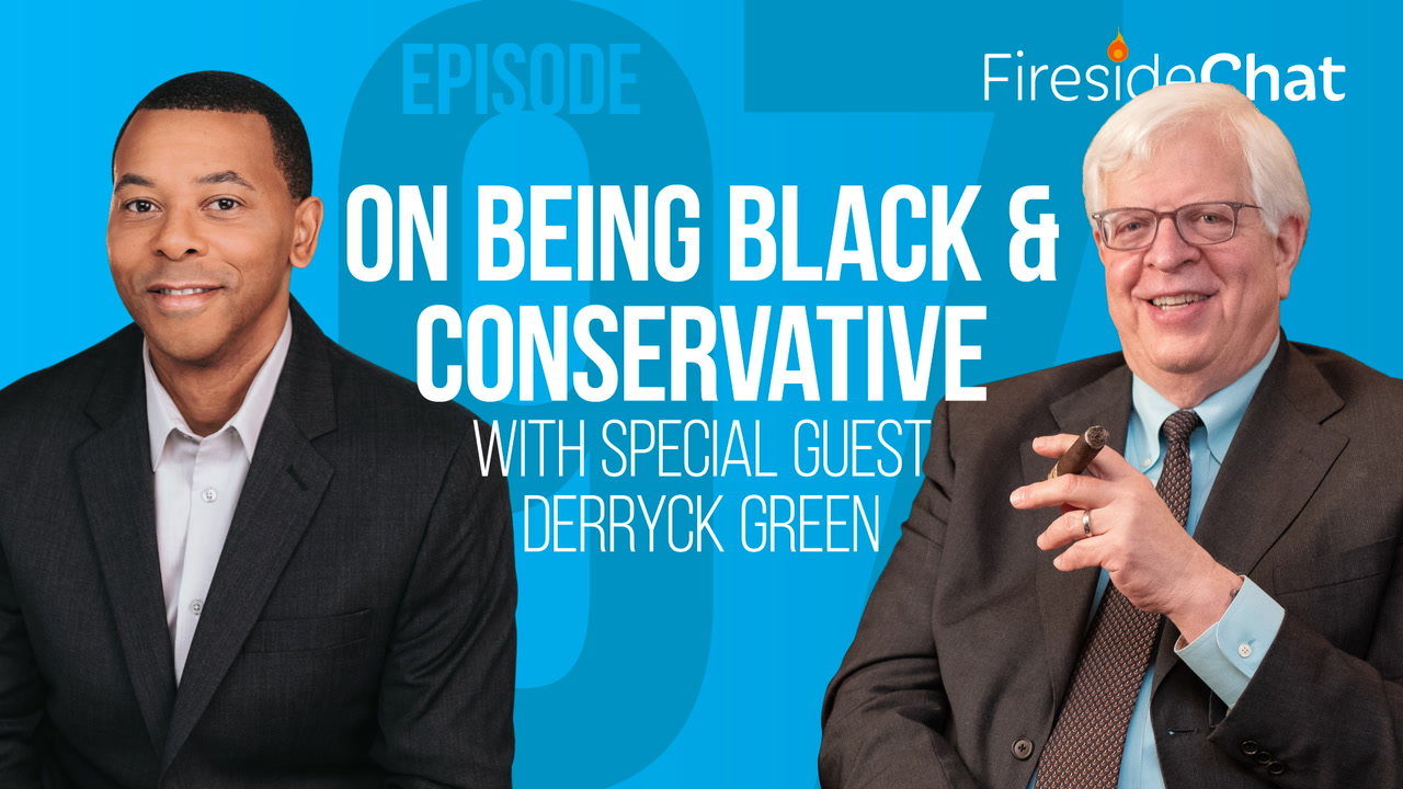 Ep. 97 - On Being Black and Conservative With Special Guest Derryck Green