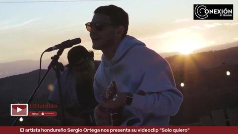 El artista hondureño Sergio Ortega nos presenta su videoclip
