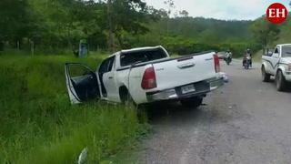 Dos personas heridas tras accidente en Comayagua