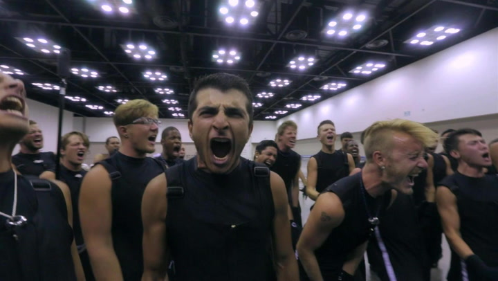 Blue Devils' Pre-show Frenzy