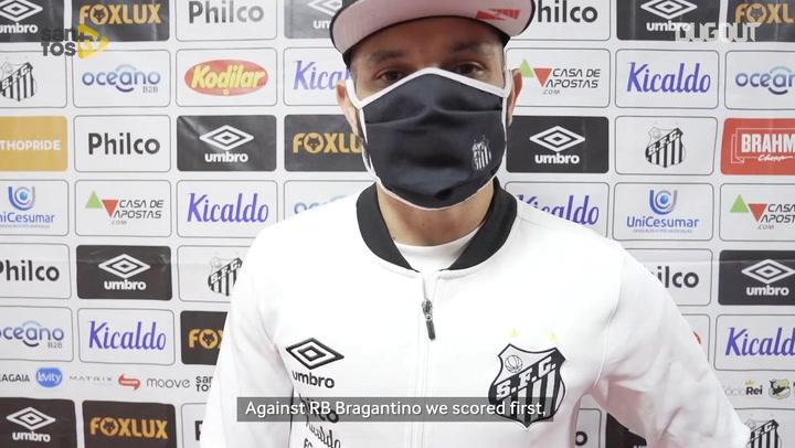 Pará on Santos' clash against Athletico-PR