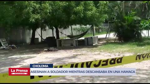 Asesinan a soldador mientras descansaba en una hamaca en Choloma