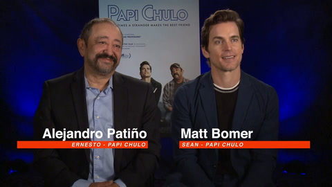 "Matt Bomer talks ""Papi Chulo"""