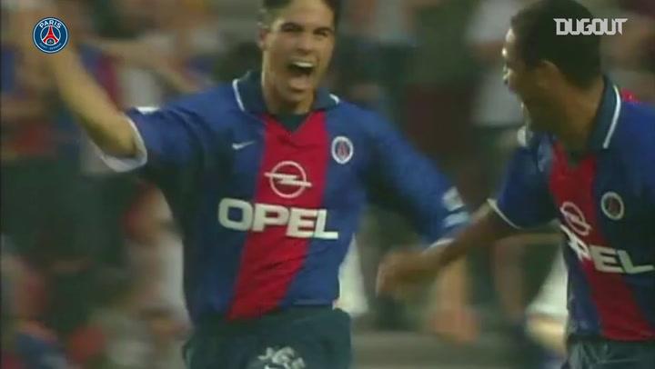 Primeiro gol de Mikel Arteta pelo Paris Saint-Germain