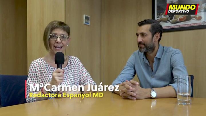 Entrevista a Diego Lopez, portero del Espanyol