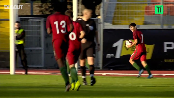 Joelson Fernandes' strike downs Albania U17
