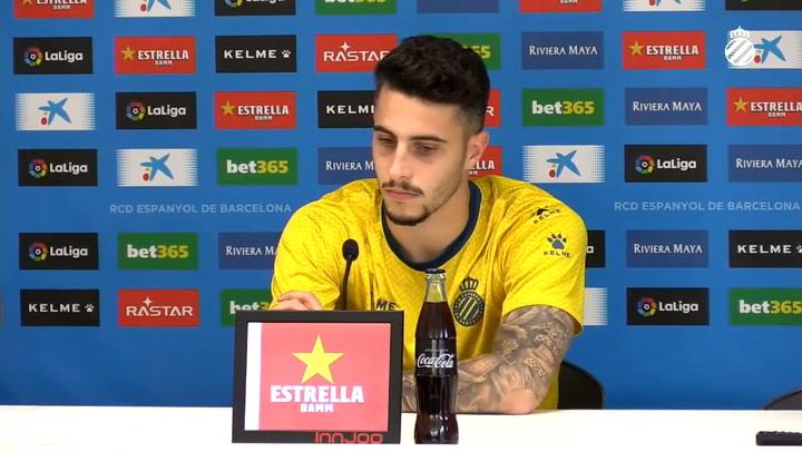 """Mario Hermoso: """"Me veo en el Espanyol el año que viene"""""""