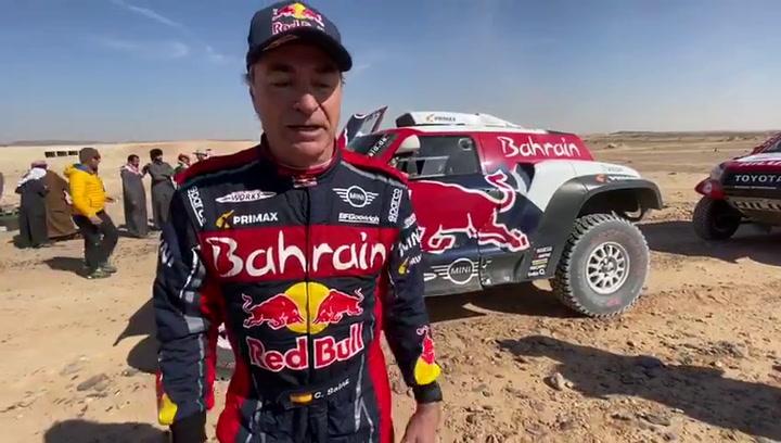 Primeras palabras de Carlos Sainz tras ganar el Dakar