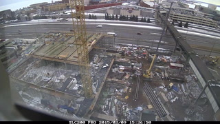 Time lapse: Duluth Transportation Center construction