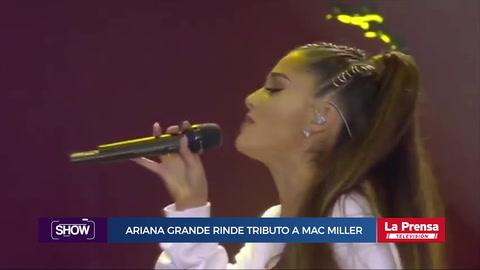 Show, resumen del 10-9-2018. Ariana Grande rinde tributo a Marc Miller