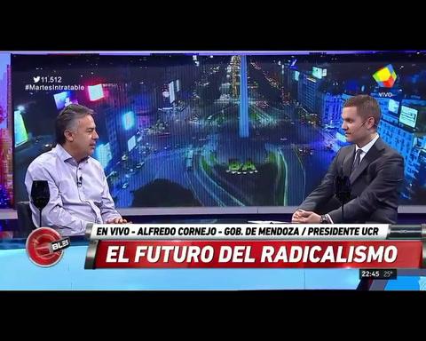 Cornejo: Sin el peronismo, Argentina sería Nueva Zelanda