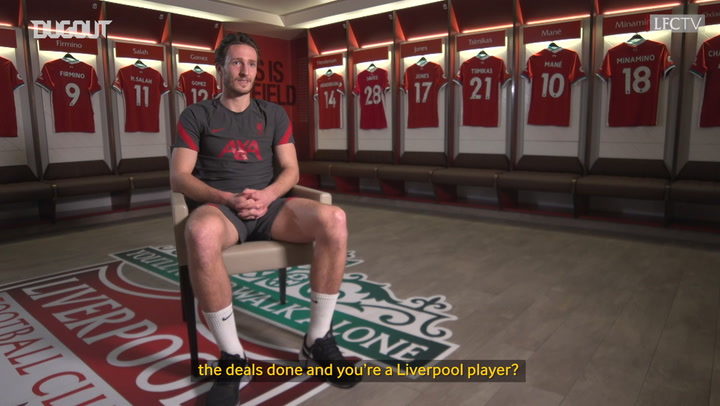 Ben Davies first Liverpool interview